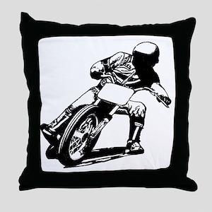 scan big bobflip Throw Pillow
