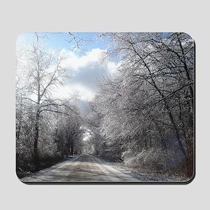 Ice strom Mousepad