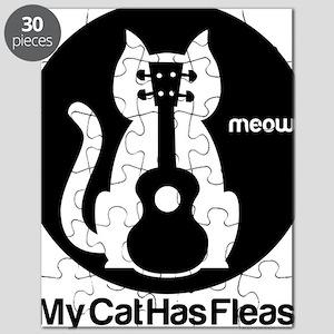 My Cat Has Fleas Ukulele Puzzle