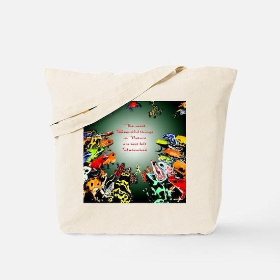 Frog shirt Tote Bag