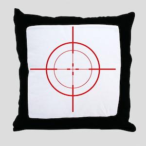 triggerhappyDrk Throw Pillow