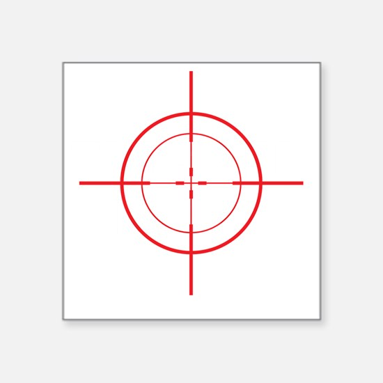 "triggerhappyDrk Square Sticker 3"" x 3"""