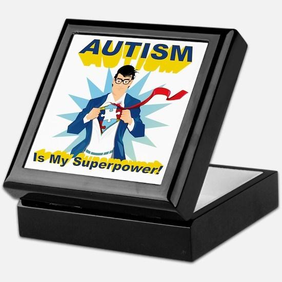 Autism is my Superpower! Keepsake Box
