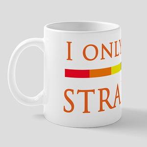 Look Straight - Black Mug