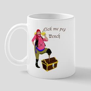 Pirate Lick Me Peg Mug