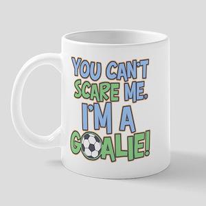 Can't Scare Goalie Mug