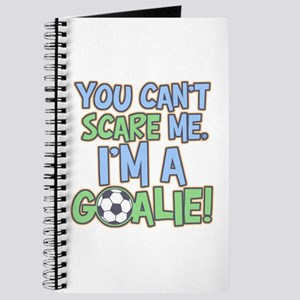 Can't Scare Goalie Journal