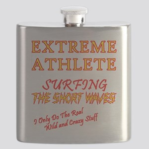 SURFING SHORT-WAVES Red Flask