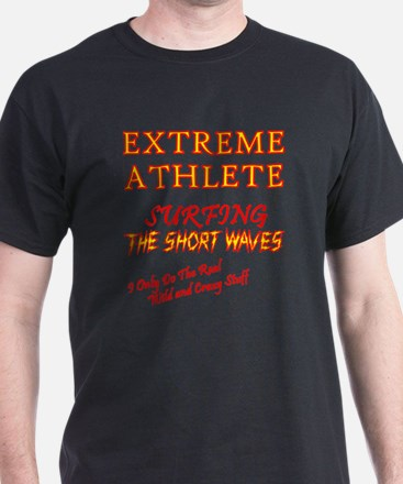 SURFING SHORT-WAVES Red T-Shirt