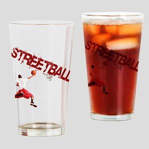 Basketball_Streetball_dunk Drinking Glass