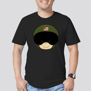 Army Pad4 Men's Fitted T-Shirt (dark)