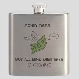 Money Talks Flask