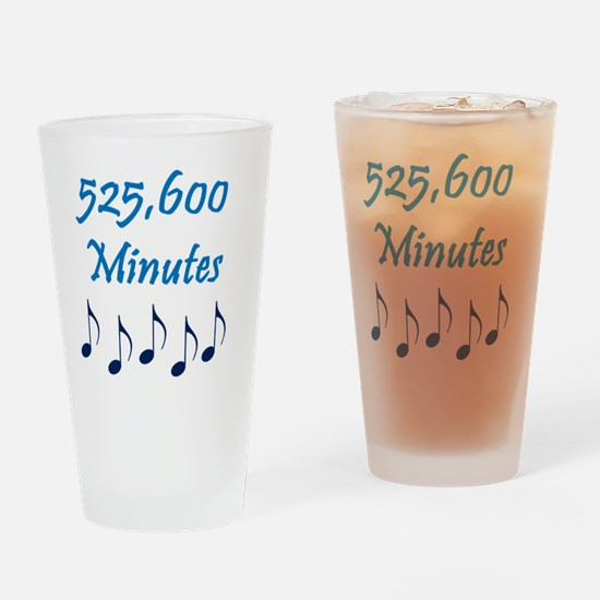 525600 Minutes Drinking Glass