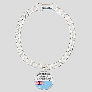 Antarctica1-WHITE Charm Bracelet, One Charm