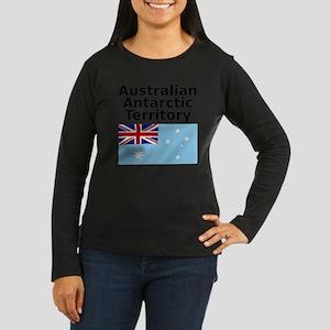 Antarctica1-WHITE Women's Long Sleeve Dark T-Shirt
