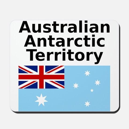 Antarctica1-WHITE Mousepad