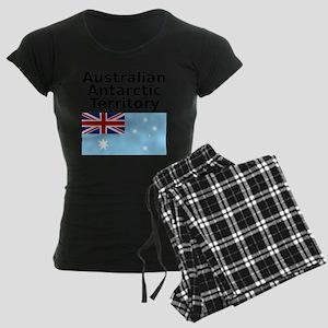 Antarctica1-WHITE Women's Dark Pajamas