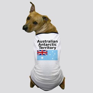 Antarctica1-WHITE Dog T-Shirt