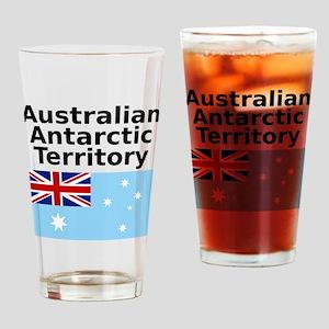 Antarctica1-WHITE Drinking Glass