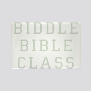 Biddle Bible Class Dark Rectangle Magnet