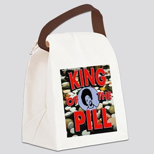 King of the pill Canvas Lunch Bag