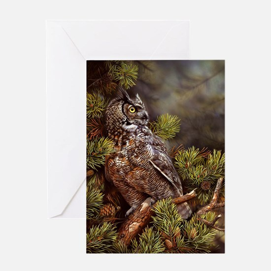 OWL 311 Greeting Card
