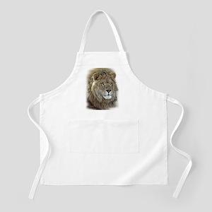 lion-portrait-t-shirt Apron