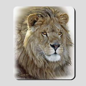 lion-portrait-t-shirt Mousepad