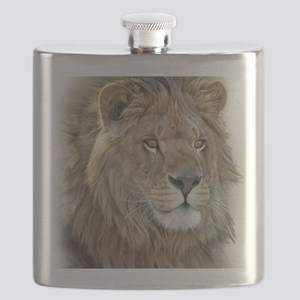 lion-portrait-t-shirt Flask