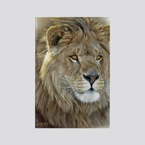 lion-portrait-t-shirt Rectangle Magnet