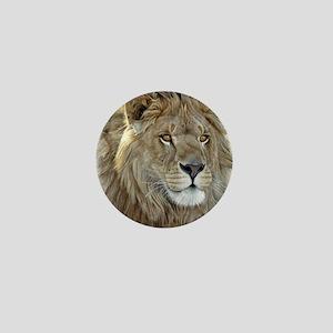 lion-portrait-t-shirt Mini Button