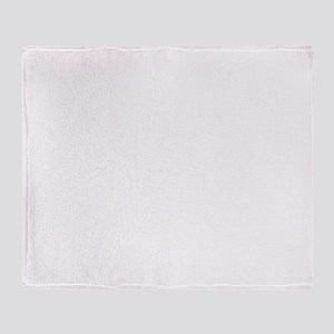 white on dark final Throw Blanket