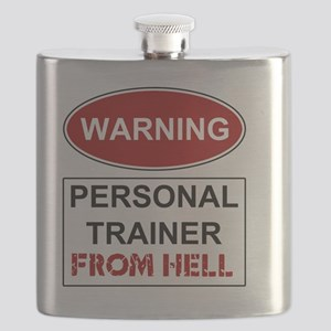 WARNING PERSONAL TRAINER Flask