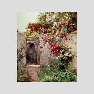 Near_Taormina_Italy_1918_iPad_anon Throw Blanket