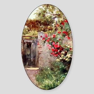 Near_Taormina_Italy_1918_iPad_anon Sticker (Oval)