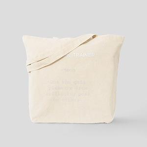 personal trainer noun Tote Bag