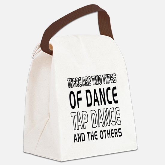 Tap danceDance Designs Canvas Lunch Bag