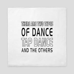 Tap danceDance Designs Queen Duvet