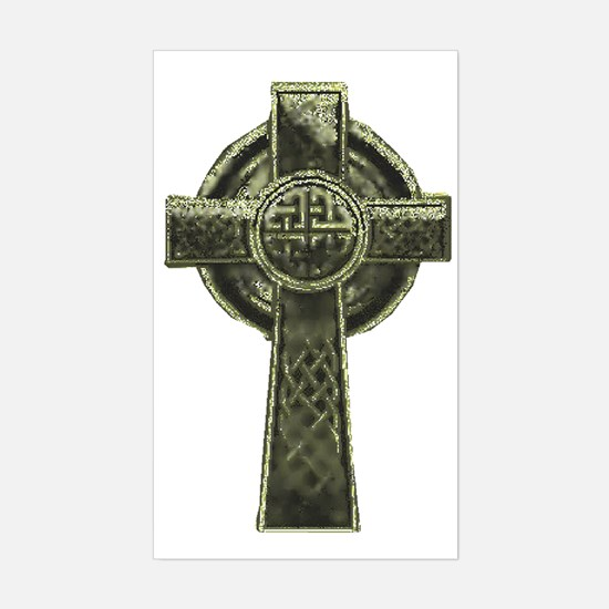 Celt Cross 1 Sticker (Rectangle)