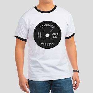 clock barbell45lb2 Ringer T
