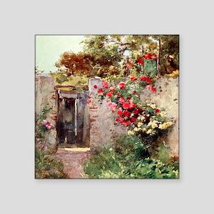 """Near_Taormina_Italy_1918_St Square Sticker 3"""" x 3"""""""