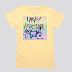 Calender A Very Colorful Passover Girl's Tee