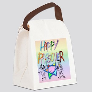 Calender A Very Colorful Passover Canvas Lunch Bag