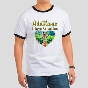 LOVE GIRAFFES Ringer T