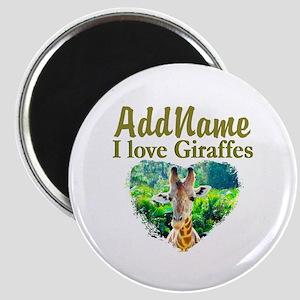 LOVE GIRAFFES Magnet
