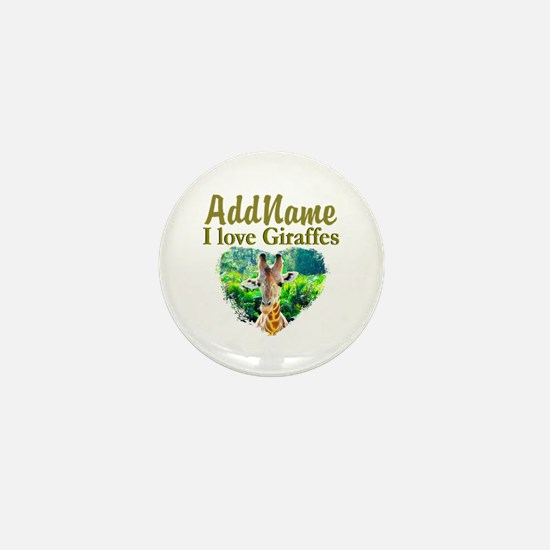 LOVE GIRAFFES Mini Button