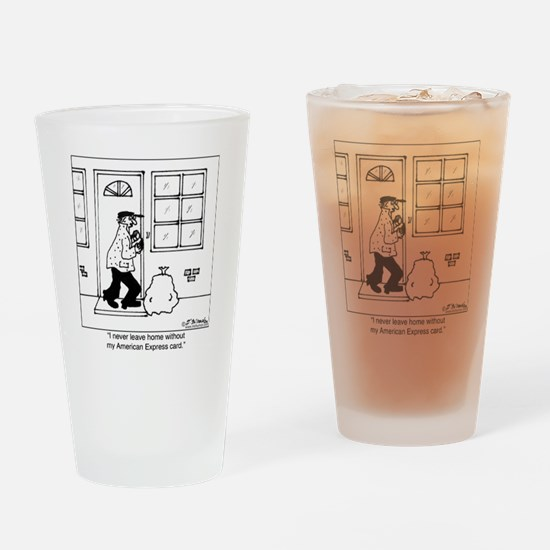 3488_crime_cartoon Drinking Glass
