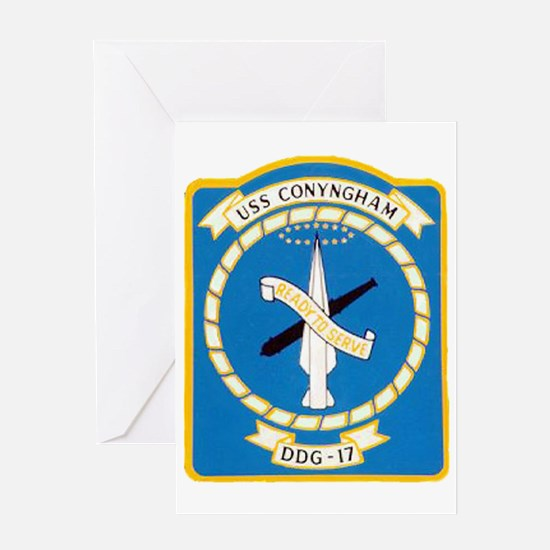 conyngham patch Greeting Card