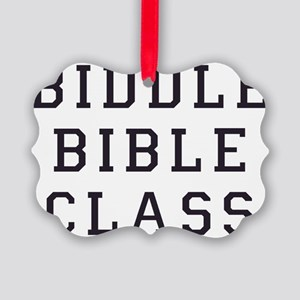 biddle bible class 2 Picture Ornament