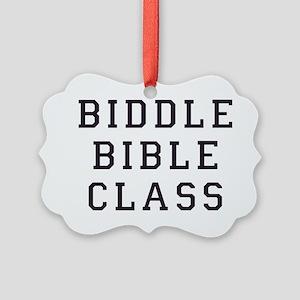 biddle bible class 2 Picture Ornament